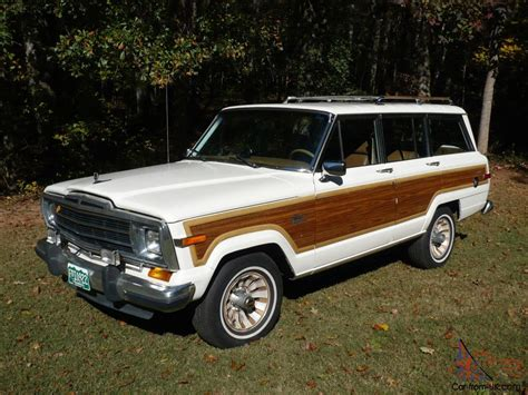 1986 Jeep Grand Wagoneer Jeep Grand Wagoneer 1986 Amc Low All Original