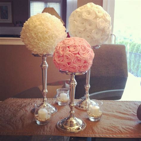 how to make a table centerpieces 25 best ideas about diy wedding centerpieces on