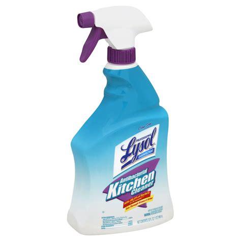 professional lysol brand antibacterial kitchen cleaner oz spray bottle office supplies
