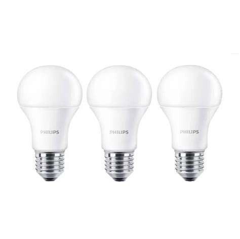 Led Philips 10 5 Watt jual philips led bulb a60 putih lu 10 5 watt 3 pcs