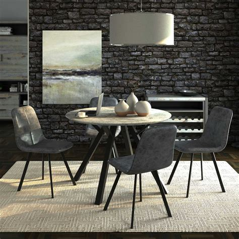Endearing Circular Dining Table For 4 23 Chairs And Model