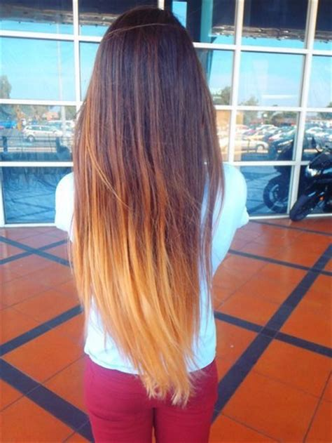 dye bottom hair tips still in style ombre na włosach modowa klaudianagorskablog pinger pl