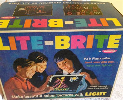 Original Light Bright by Original 1960s Palitoy Lite Brite Picture Maker