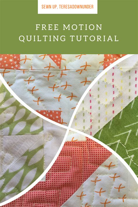 video tutorial quilting video tutorial free motion quilting tutorial sewn up