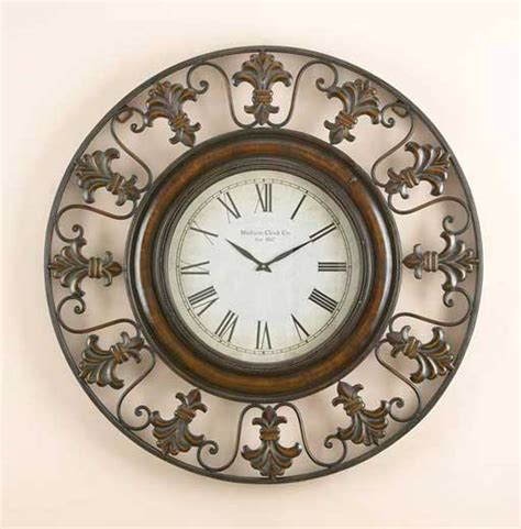 unique wall clock com decorative fancy wall clocks homesfeed