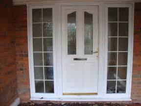 georgian front doors upvc white half glass front door with frame