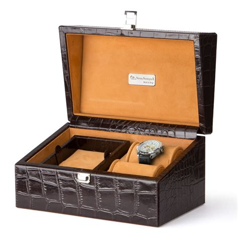 jewellery boxes sunrise imports where everybody pays the renzo crocodile leather men s accessory jewellery box