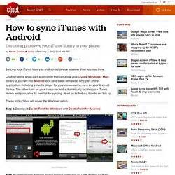 sync itunes with android itunes and android pearltrees