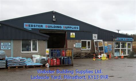 Webster Plumbing Supply by Builders Merchants Based In Perthshire Contact 01577