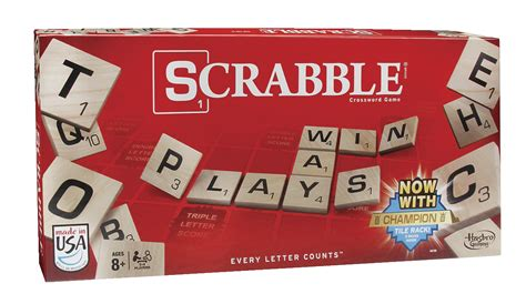 hasboro scrabble toys language arts literacy reading writing