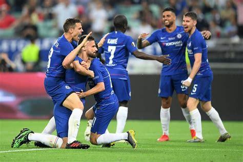 uefa europe league final  arsenal chelsea ends