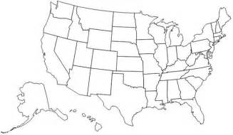not map best photos of map of us without states labeled