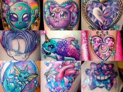 pastel goth tattoos tattoos sailor moon pastel mel