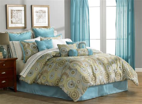light blue comforter queen mcleland orleans queen 16 piece comforter bedroom set