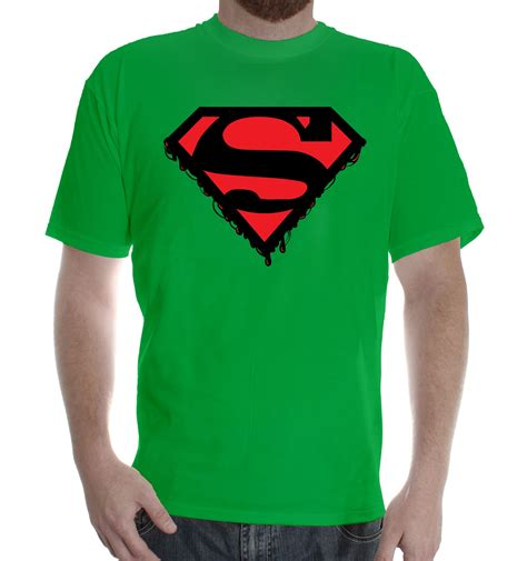 Tshirt Dc Flocked Zero X Store t shirt protection superman dc clasic