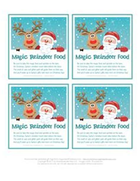 free christmas printables letter to santa reindeer food home reindeer food printable labels instant download crafts