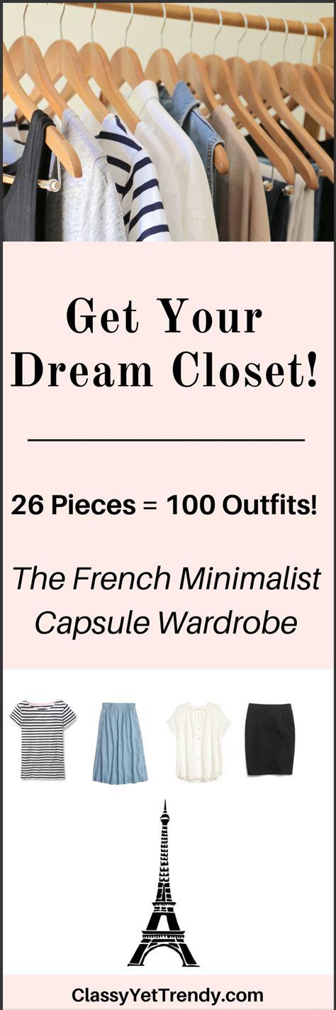 french minimalism the french minimalist capsule wardrobe summer 2017