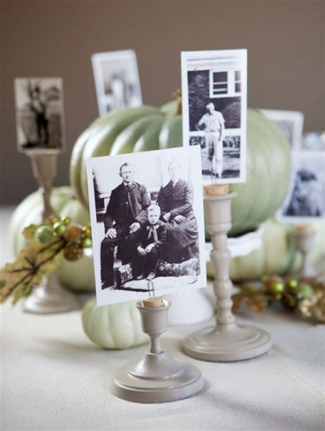 centerpieces with photos centros de mesa con fotos lacelebracion