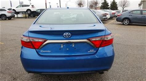 Toyota Camry Tires 2016 Toyota Camry Se Demo With Snow Tires Only 11371