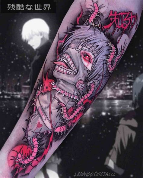 ken kaneki art tattoo best tattoo ideas gallery