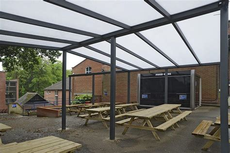 awnings for schools lean to canopies for schools waverley