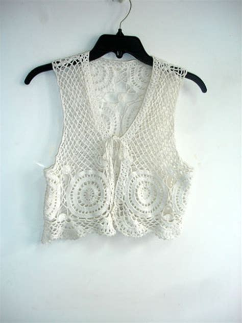 fotos de chalecos tejidos chalecos tejidos a crochet para mujer