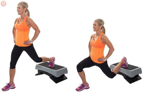 bench lunge 7 best exercises to reduce cellulite get healthy u