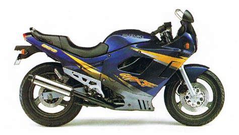 1997 Suzuki Katana 600 Suzuki Gsx600f Model History