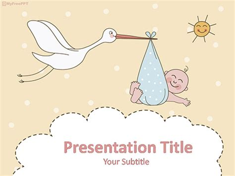 powerpoint themes baby free kids powerpoint templates themes ppt