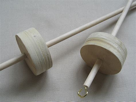 Handcrafted Drop Spindles - drop spindles handmade by my husband
