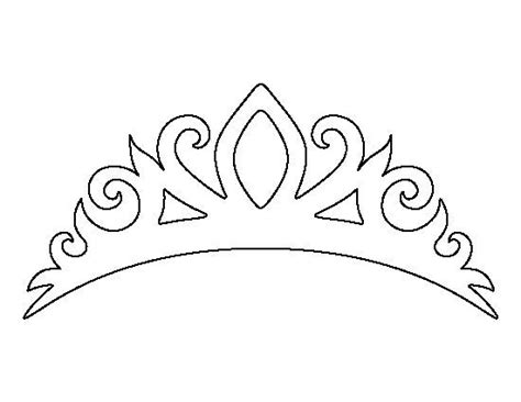 free printable princess crown template 25 unique crown template ideas on crown