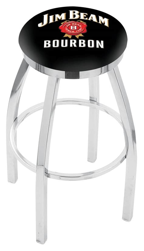 jim beam bar stools jim beam bar stool w official jim beam logo family leisure