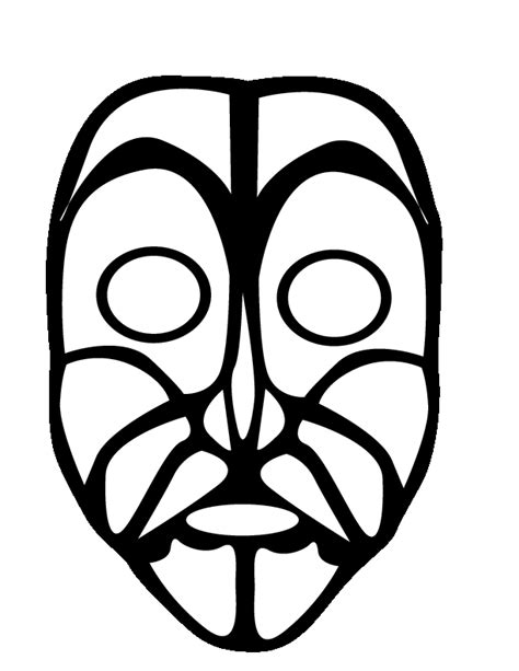 printable masks you can color mask coloring pages coloring home african coloring pages