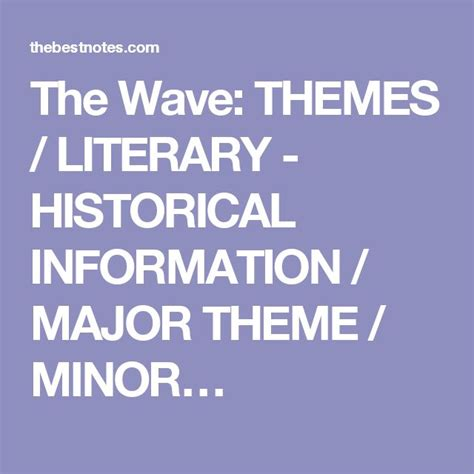 historical themes in literature 9 best the wave images on pinterest the wave wave and waves
