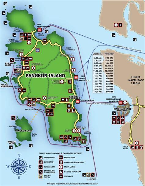 pangkor island resort map perak pangkor island another best in malaysia