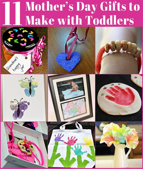 11 Mother's Day Gifts to Make with Toddlers   Childhood101