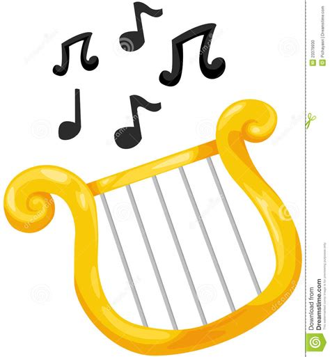 lyre stock photo image 23379930
