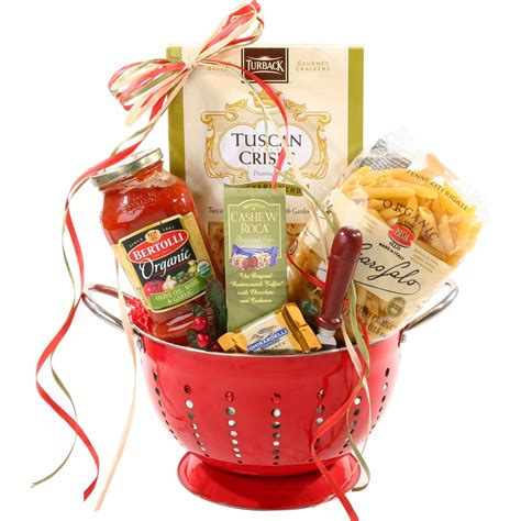 dinner gifts alder creek italian pasta dinner gift basket gourmet