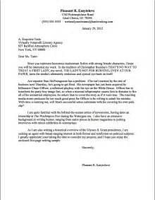 Proper Format For A Letter   Crna Cover Letter