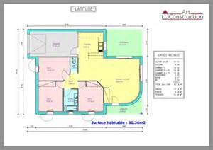 plan 3 chambres 100m2 images