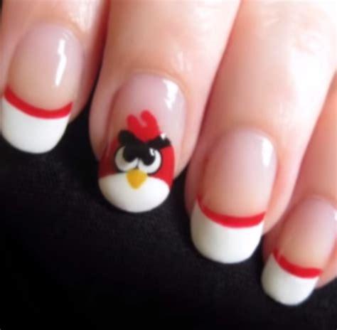 easy nail art by cutepolish reviews 411reviews 411 diy angry birds nail art nailart