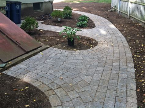 Patio Walkway Designs Paver Walkways And Patios Installed By Ground Care Landscaping