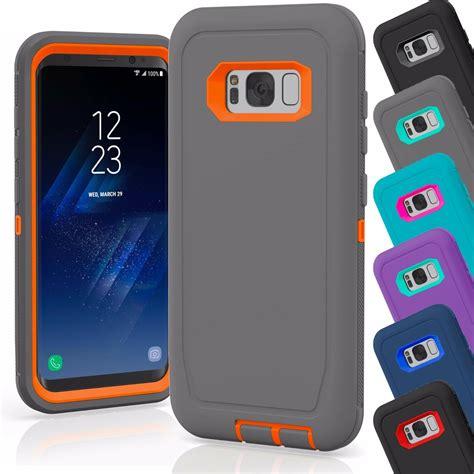 samsung galaxy    case cover shockproof hybrid hard rugged rubber tpu ebay