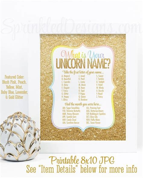 printable unicorn names 25 best ideas about unicorn names on pinterest what is