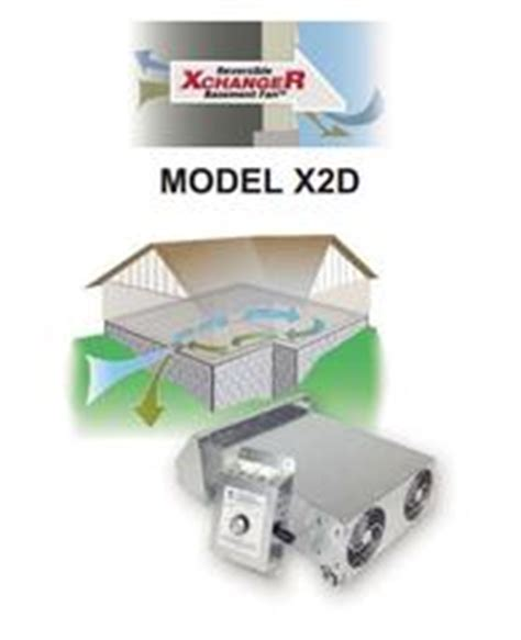 air xchanger reversible workshop basement fans model