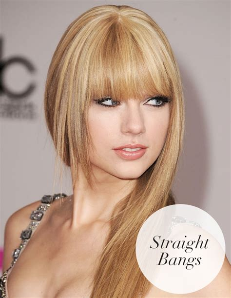 blunt bangs and how to style it for round faces how to style your bangs hair extensions blog hair