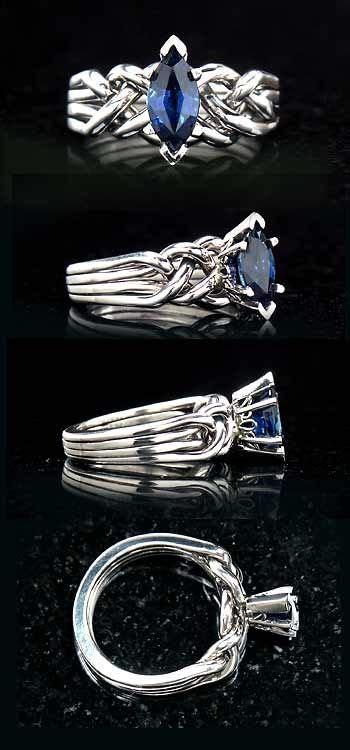 Blue Safir Sapphire 3 4ct die besten 25 puzzle ring ideen auf coole