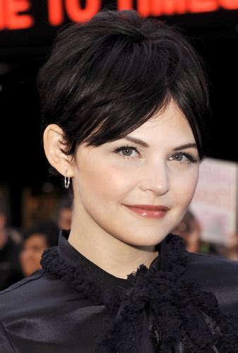 cute haircuts on gma ginnifer goodwin looks picture perfect for good morning