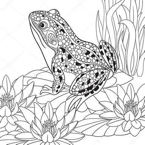 vet a snarky coloring book a unique antistress coloring gift for veterinarians veterinary science majors dvm vmd doctors of stress relief mindful meditation books zentangle grenouille stylis 233 e image vectorielle sybirko