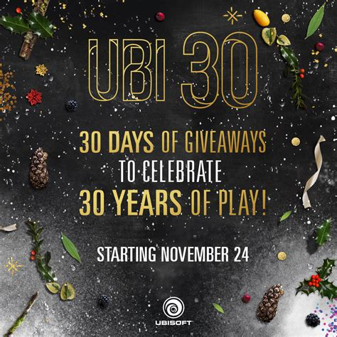 Days Of Giveaways - new ubi 30 promotion 30 days of giveaways rocket chainsaw